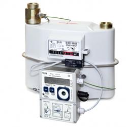 Комплекс учета газа СГ-ТК-Д-25 (монтаж корректора на стену)