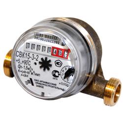 Счетчик воды универсальный СВК-15-3-2, Ду-15 (для холодной и горячей воды)